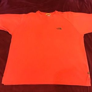The North Face A5  Style #A801 Orange Short Sleeve